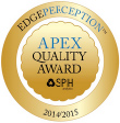 APEX Quality Award Dr. Solomon Eye surgical Center Charleston